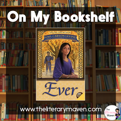 In Ever by Gail Carson Levine, Kezi and Olus are young, playful, and in love. The only problem is that Kezi is mortal and fated to die while Olus, god of the winds, can't live among humans. Read on for more of my review and ideas for classroom application.