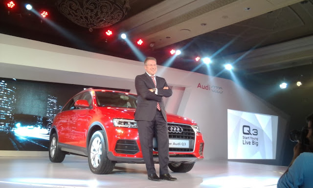 2015 Audi Q3 facelift launch in India