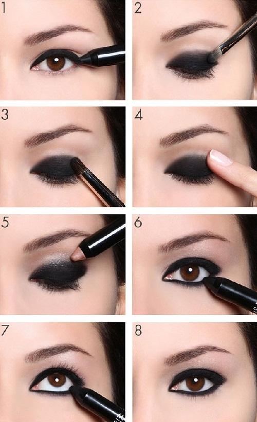 abbastanza My Make Up Corner: #MAKE UP TIPS • Guida ad un PERFETTO SMOKEY EYE • FQ17