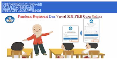 Panduan Registrasi Dan Verval SIM PKB Guru Online