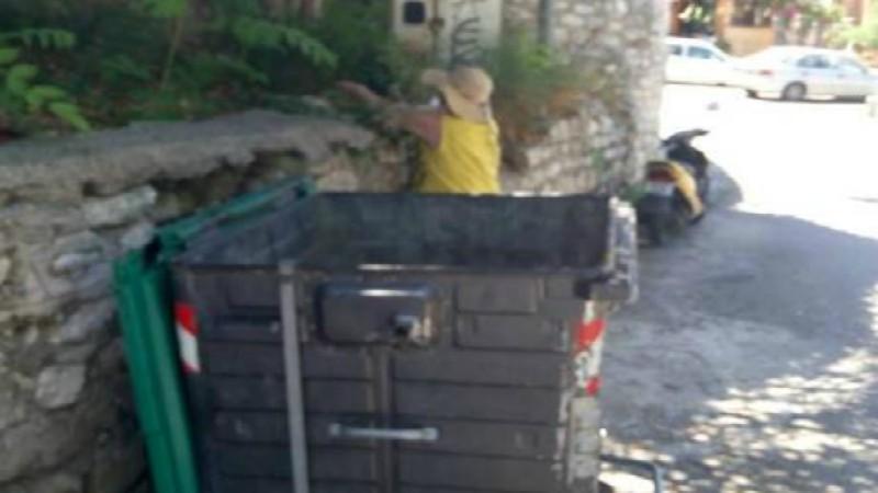 Πάτρα: Γυναίκα πιάστηκε επ' αυτοφώρω να πετά γατάκια σε κάδο!