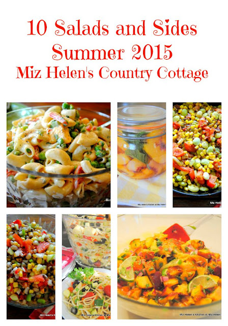 10 Salads and Sides Summer 2015 at Miz Helen's Country Cottage