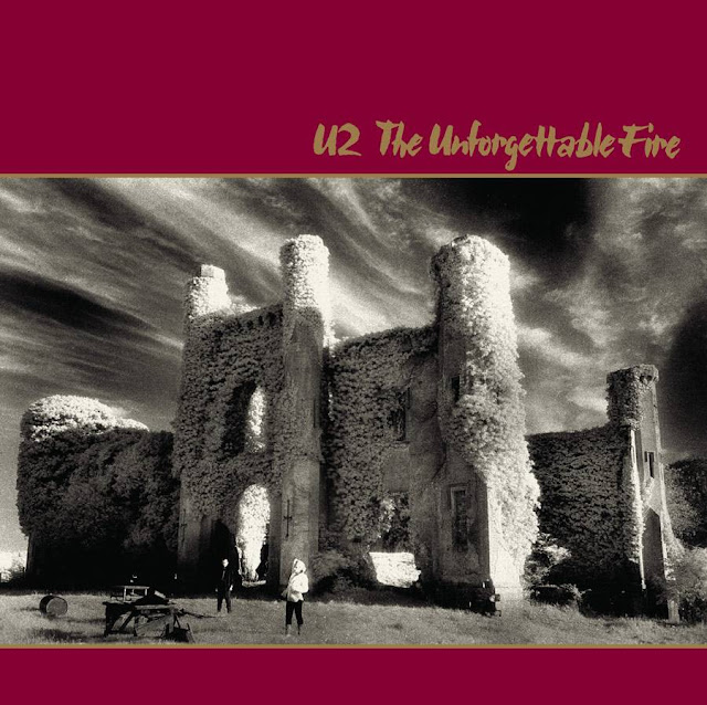 'The Unforgettable Fire' album lyrics by U2