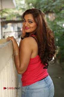 Tollywood Actress Ashwini Latest Stills in Ripped Jeans  0131.JPG