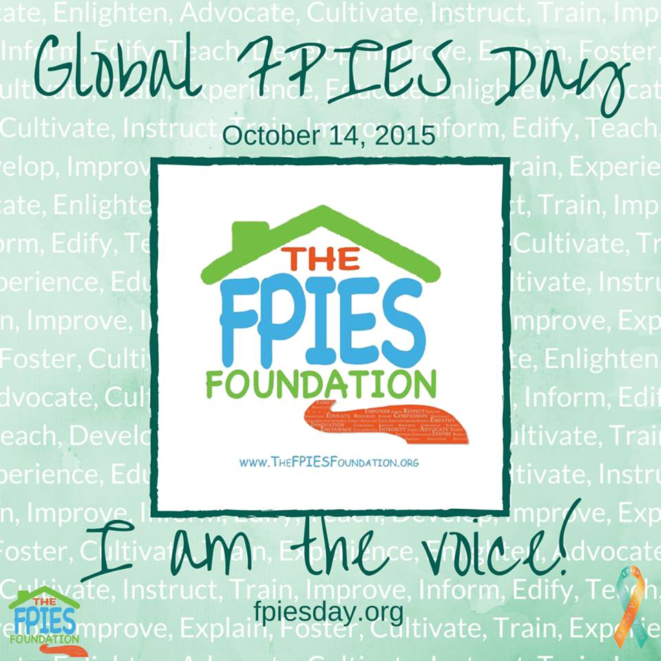 Fpies Home The Blog Of The Fpies Foundation 2015
