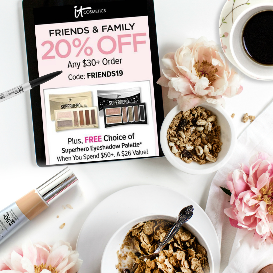 20% Off At ItCosmetics; Family And Friends Sale by Barbies Beauty Bits