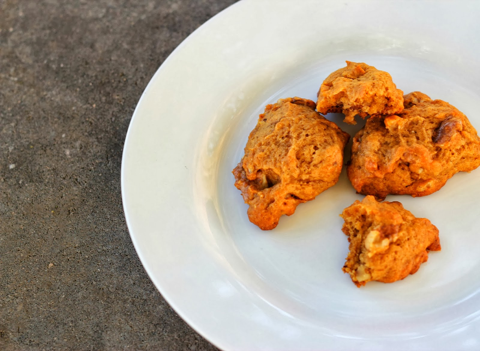 sweet halloween treat: butternut squash cookies (vegan) | lille punkin'