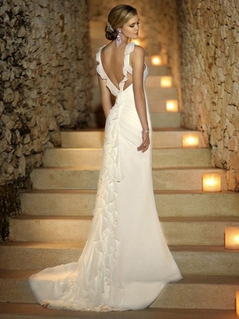http://www.dressfashion.co.uk/product/sheath-column-white-open-back-chiffon-ruffles-sweep-train-wedding-dress-00016743-3049.html?utm_source=minipost&utm_medium=1173&utm_campaign=blog