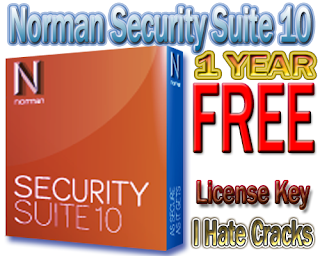 Norman Security Suite 10 Free Download Full Version With Legal 1 Year License Key