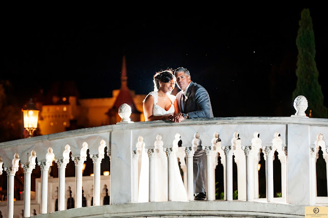 Wedding Photography Disney World Epcot Italy and America