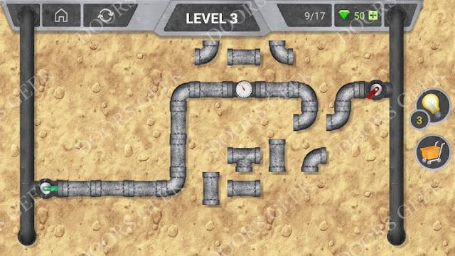 Pipeline [Classic] Level 3 Solution, Cheats, Walkthrough