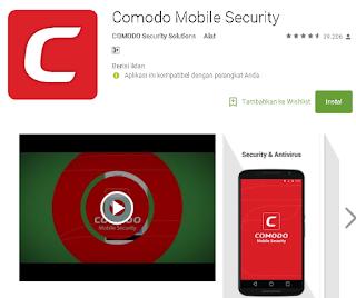 Comodo Antivirus untuk android