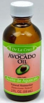 Oil coconut makeup remover avocado de la cruz natural jar