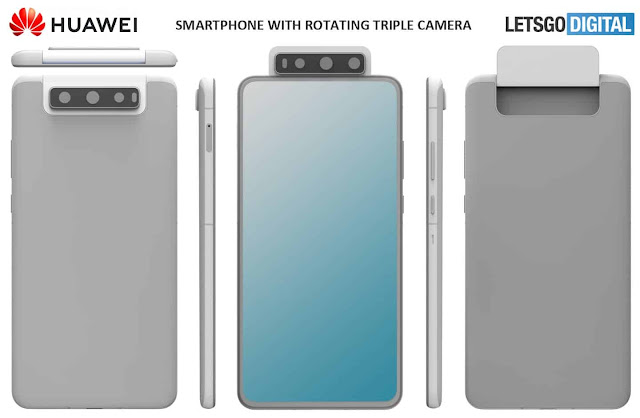 HUAWEI: A SMARTPHONE WITH THREE ROTARY CAMERA SENSORS
