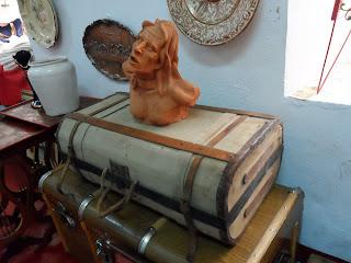 antigua maleta del desembalaje cantabria