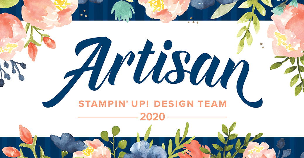 2020 Stampin' Up! Artisan Design Team Member