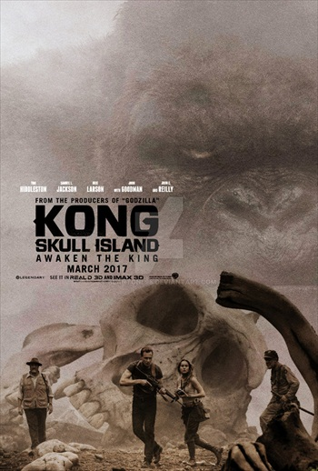 Kong Skull Island 2017 Khatrimaza - English 480p HDRip 300MB