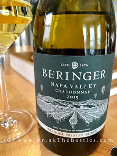 2015 Beringer Napa Valley Chardonnay Label