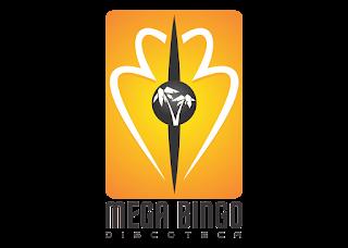 Mega bingo Logo Vector