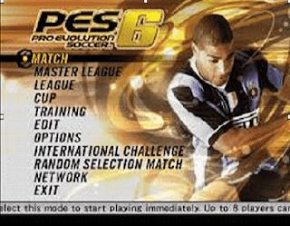 تحميل وشرح لعبة PES 2006