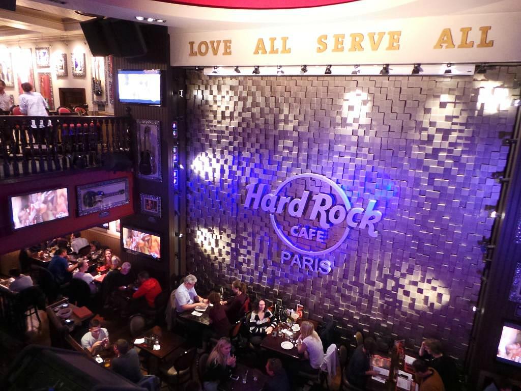 World Burger Tour Hard Rock Cafe Paris