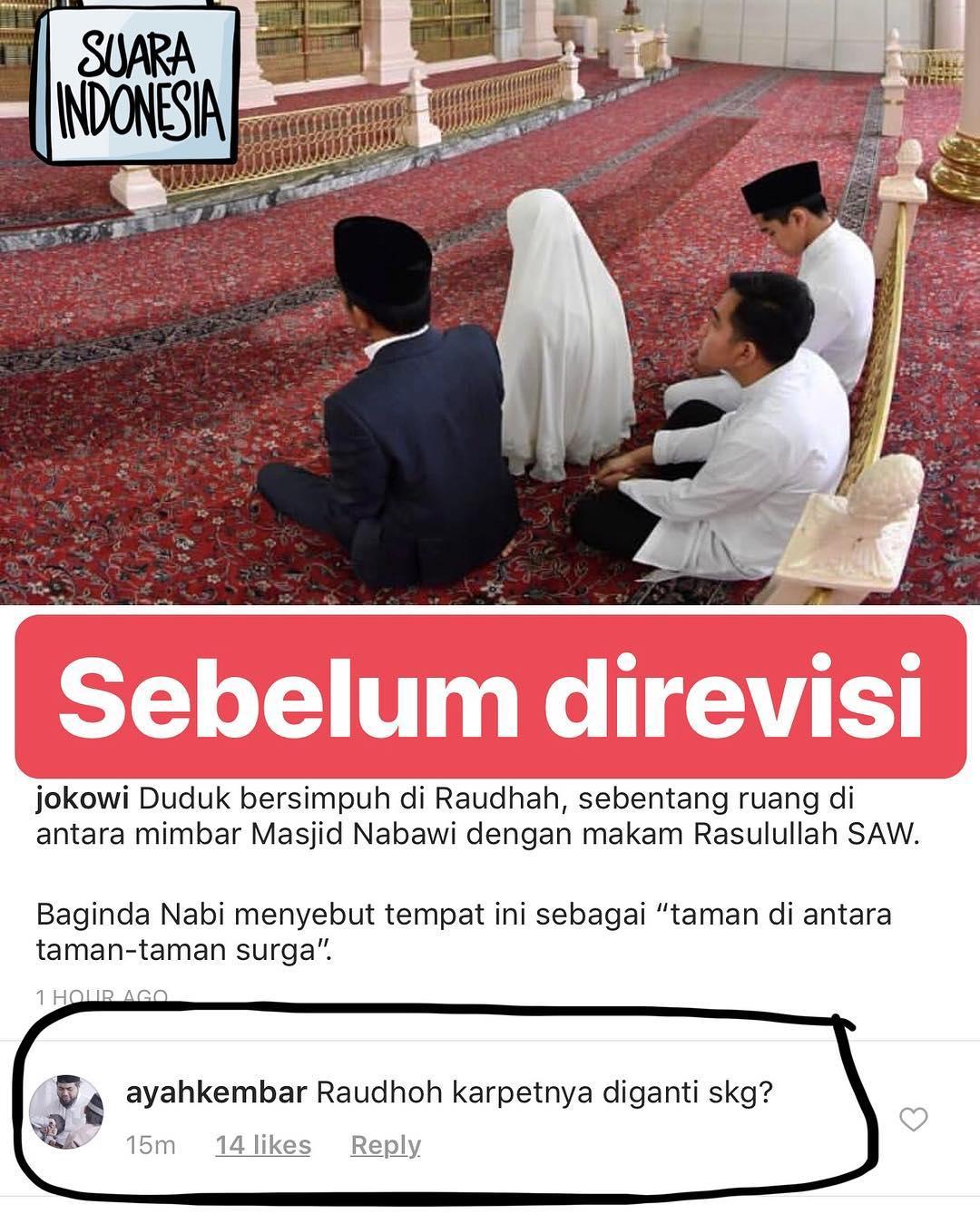 """Ayah Kembar """"Tangkap Basah"""" Jokowi Soal Ketidakpahaman Raudhoh"""