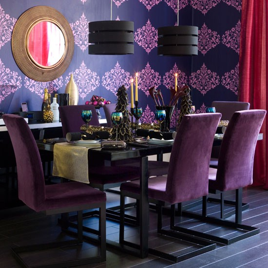 Dining Room Decoration: New Home Interior Design: 10 Christmas Dining Room Looks
