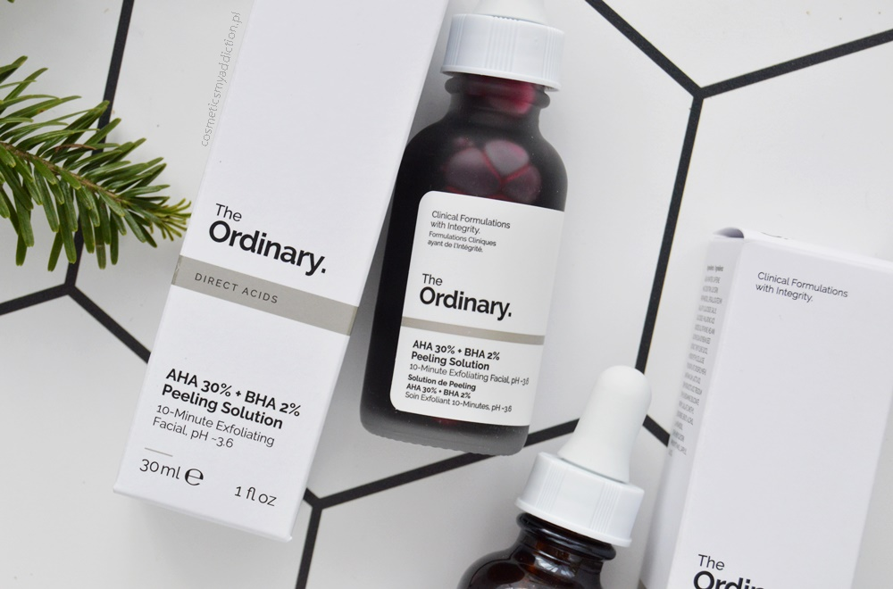 The Ordinary, AHA 30% + BHA 2% Peeling Solution (Peeling kwasowy AHA 30% + BHA 2%)