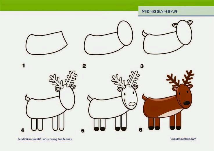 30 Cara Menggambar Kartun Mudah Dan Cepat Armaila