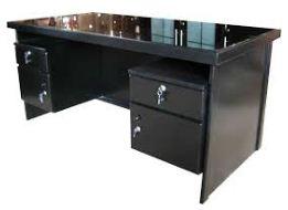 meja kantor kaca