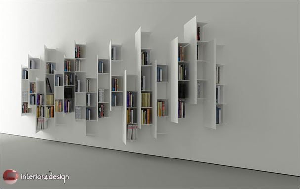 70 Best Bookshelf Designs 31