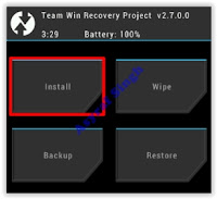 install - twrp recovery