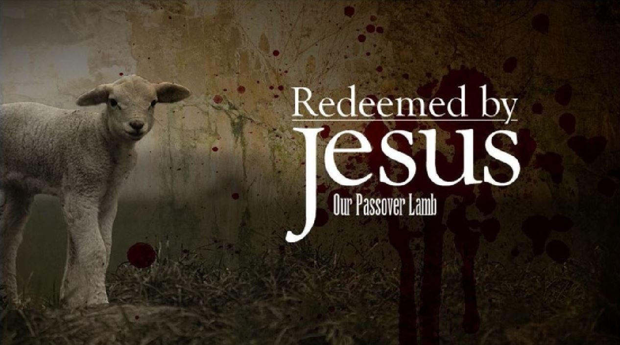 Love For His People: Redeemed by Jesus. Our Passover Lamb.
