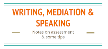 C1 WRITING, MEDIATION & SPEAKING