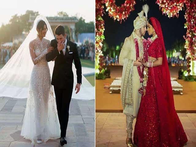 Priyanka Chopra S Wedding Gown Was Written On The Name Of Nick