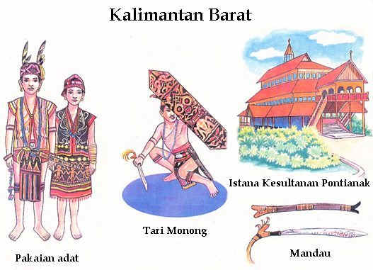 siti nur hikmah d gambar rumah adat tarian adat sejata