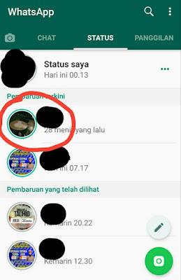 Cara Melihat Status Whatsapp Orang Lain Tanpa Diketahui Pemilik Status
