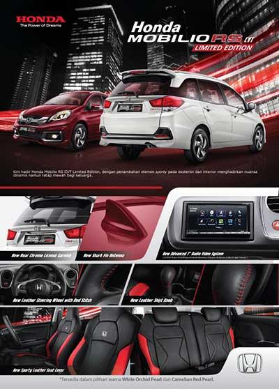 Promo Honda Mobilio RS Bandung 2016