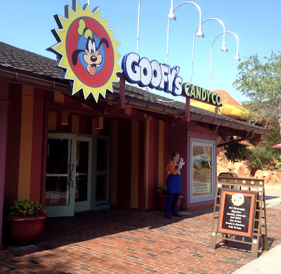 Goofy's Candy Co. in Downtown Disney storefront