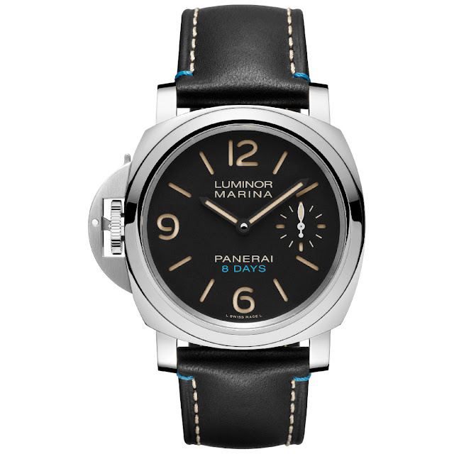 Panerai Luminor Left-Handed 8 Days Acciaio PAM00796
