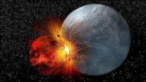 La Tierra chocó con un cuerpo planetario hace 4.500 millones de años
