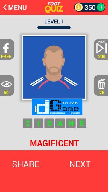 FootQuiz Calcio Quiz Football ( DIVO) soluzione livello 1-10