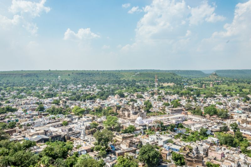 View of Chanderi City from Top