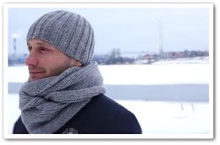 Как связать мужскую шапку