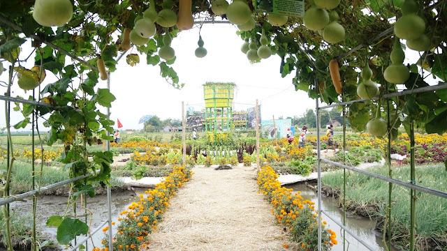Objek Wisata Taman Ponggok Banjarsari Jombang