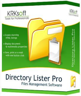 Directory Lister Enterprise Edition Portable