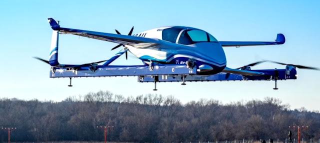 Το αυτόνομο επιβατικό αεροπλάνο της Boeing ολοκληρώνει την πρώτη πτήση του