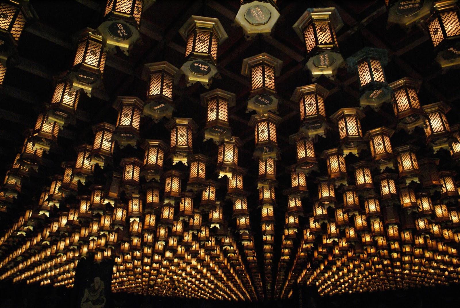 daisho-in buddhist temple japan miyajima lantern itsukushima henjokutsu