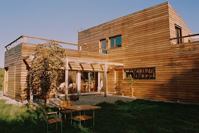 wood style house 04