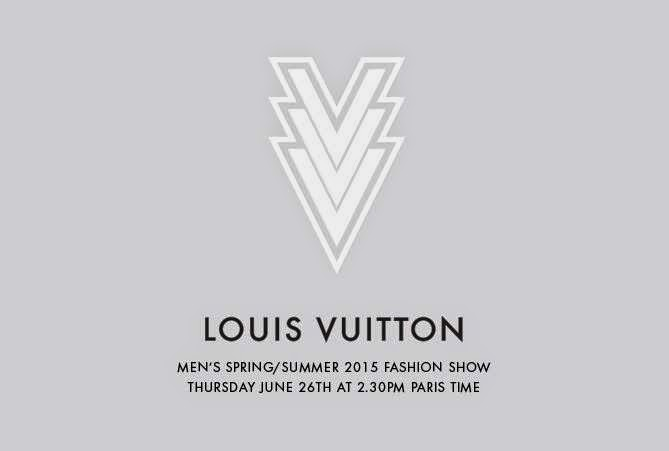 Watch Louis Vuitton Men's Spring/Summer 2015 Show LIVE TONIGHT!